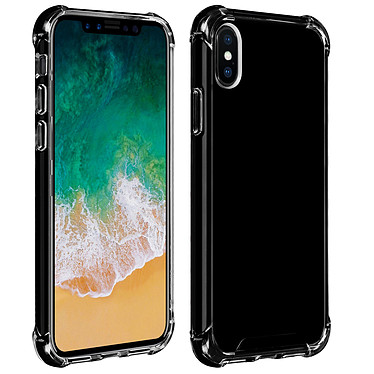 Akashi Coque TPU Angles Renforcés Noire Apple iPhone Xs Max