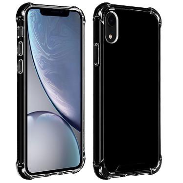 Akashi TPU Shell Ángulos reforzados Negra Apple iPhone XR Funda protectora negra con esquinas reforzadas para Apple iPhone XR