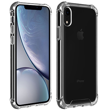 Akashi TPU Shell Ángulos reforzados Apple iPhone XR Funda protectora transparente con esquinas reforzadas para Apple iPhone XR