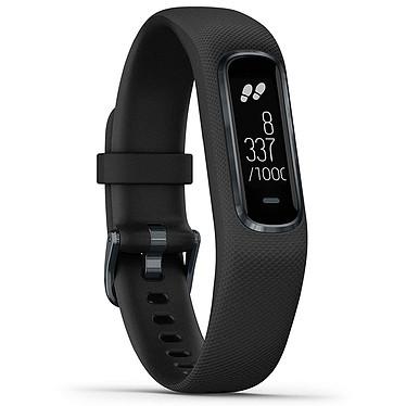 Garmin vívosmart 4 Noir Small/Medium Bracelet connecté étanche avec cardio poignet, oxymètre de pouls, tracker d'activité, Bluetooth et notifications (iOS, Android)