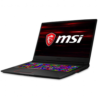 "MSI GE75 Raider 8SE-061FR Intel Core i7-8750H 16 Go SSD 256 Go + HDD 1 To 17.3"" LED Full HD 144 Hz NVIDIA GeForce RTX 2060 6 Go Wi-Fi AC/Bluetooth Webcam Windows 10 Famille 64 bits (garantie constructeur 2 ans)"