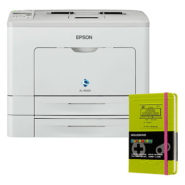 Epson WorkForce AL-M300DTN + Moleskine Super Mario Game Boy Pocket OFFERT !