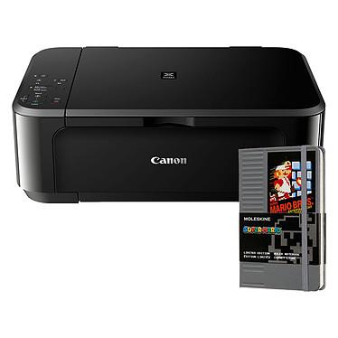 Canon PIXMA MG3650S Noir + Moleskine Super Mario Cartouche NES Pocket OFFERT !