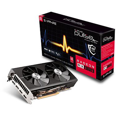 Sapphire PULSE Radeon RX 570 4GD5_Optimized 4 GB GDDR5 - Dual HDMI/Dual DisplayPort - PCI Express (AMD Radeon RX 570)