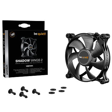 be quiet! Shadow Wings 2 120mm pas cher