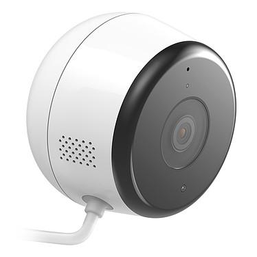 D-Link DCS-8600LH Caméra réseau cube Full HD intérieur/extérieur jour/nuit (Wi-Fi/Bluetooth) - Compatible Amazon Alexa et Google Home/Chromecast