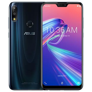"""ASUS ZenFone Max Pro M2 Bleu (6 Go / 64 Go) Smartphone 4G-LTE Dual SIM - Snapdragon 660 Octo-Core 1.8 GHz - RAM 6 Go - Ecran tactile 6.3"""" 1080 x 2280 - 64 Go - Bluetooth 5.0 - 5000 mAh - Android 8.1"""