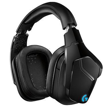 Logitech G935 Wireless Casque gaming sans fil - circum-aural fermé - DTS Headphone:X 2.0 - microphone unidirectionnel repliable - touches G programmables - rétro-éclairage Lightsync RGB