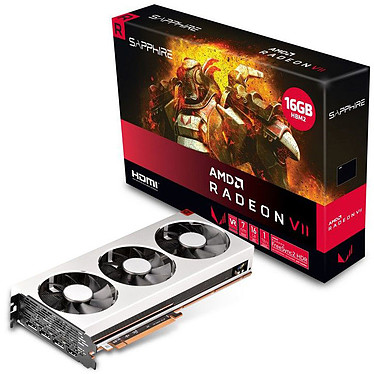 Sapphire RADEON VII 16 Go HBM2 - HDMI/Tri DisplayPort - PCI Express (AMD Radeon VII)