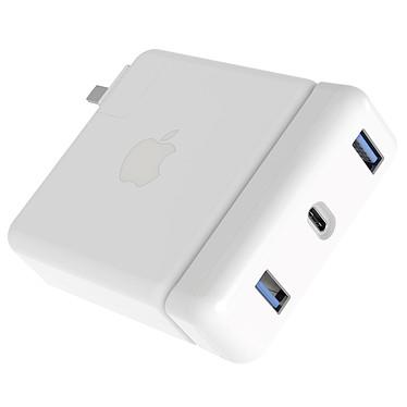 """Hyperdrive USB-C Hub MacBook Pro 13"""" Adaptateur USB-C vers 2x USB 3.0 et USB-C pour chargeur secteur MacBook Pro 61 W"""