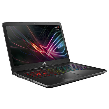 "ASUS ROG STRIX SCAR GL703GM-EE044T Intel Core i7-8750H 8 Go SSD 128 Go + SSHD 1 To 17.3"" LED Full HD 120 Hz NVIDIA GeForce GTX 1060 6 Go Wi-Fi AC/Bluetooth Webcam Windows 10 Famille 64 bits (garantie constructeur 2 ans)"
