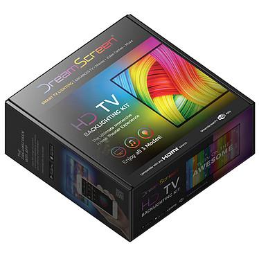 """DreamScreen HD Total Surround Kit (70"""") Système d'éclairage ambiant connecté pour TV/moniteur jusqu'à 70"""" - 1080p/60Hz - 1 bande LED - 2x SideKicks"""