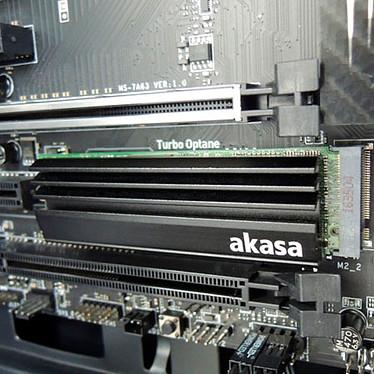 Avis Akasa Dissipateur SSD M.2 (A-M2HS01-BK)