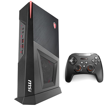 MSI Trident 3 8RC-205FR Intel Core i7-8700 8 Go SSD 128 Go + HDD 1 To NVIDIA GeForce GTX 1060 3 Go Wi-Fi AC/Bluetooth Windows 10 Famille 64 bits