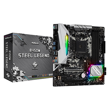ASRock B450M Steel Legend