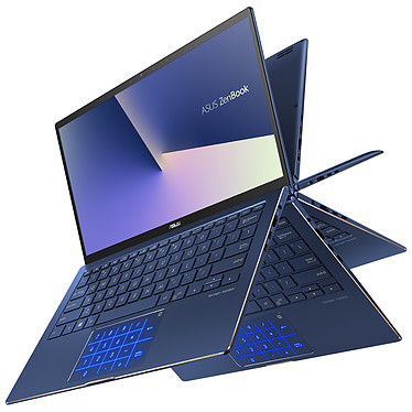 "ASUS Zenbook Flip 13 UX362FA-EL111T Intel Core i7-8565U 16 Go SSD 512 Go 13.3"" LED Tactile Full HD Wi-Fi AC/Bluetooth Webcam Windows 10 Famille 64 bits (garantie constructeur 2 ans)"