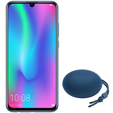 "Honor 10 Lite Bleu + Honor AM51 OFFERTE ! Smartphone 4G-LTE Advanced Dual SIM - Kirin 710 8-Core 2.2 GHz - RAM 3 Go - Ecran tactile 6.21"" 1080 x 2340 - 64 Go - Bluetooth 4.2 - 3400 mAh - Android 9.0 + Enceinte Bluetooth étanche OFFERTE !"
