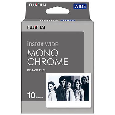 Fujifilm instax Wide Monochrome N&B Films instax monochromes format XXL pour appareils photos instax WIDE 210 et instax WIDE 300 - 10 vues