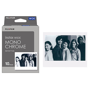 Avis Fujifilm instax Wide Monochrome N&B