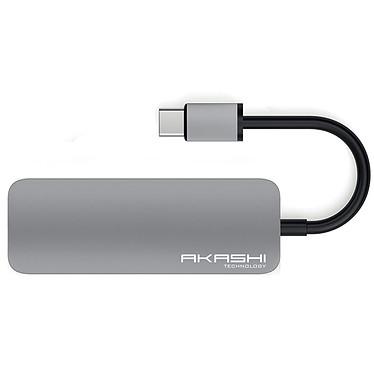 Akashi Hub USB Tipo C 4 en 1 a bajo precio