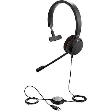Jabra Evolve 20 UC Mono Micro-casque filaire mono pour softphones VoIP