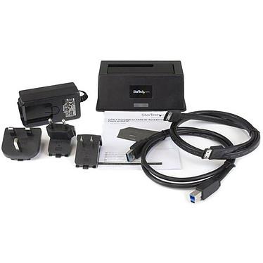 """Avis StarTech.com Station d'accueil pour HDD/SSD SATA 2.5"""" et 3.5"""" sur port USB 3.0/eSATA"""
