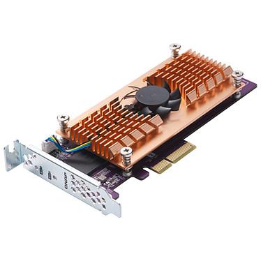 QNAP QM2-2P-384 Carte d'extension dual SSD M.2 PCIe NVMe type 2280