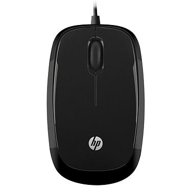 HP X1200 Noir Souris filaire - ambidextre - capteur optique - 3 boutons