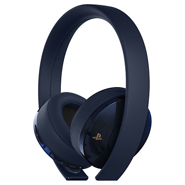 Sony PS4 Wireless Stereo Headset Bleu/Or Casque micro sans-fil compatible PlayStation 4