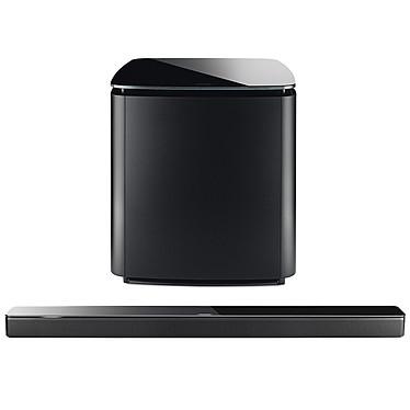 Bose Soundbar 700 Noir + Bass Module 700 Noir Barre de son multiroom - Bluetooth - Wi-Fi - Amazon Alexa - Spotify/Deezer - Autocalibration - Télécommande universelle + Module de basses sans fil