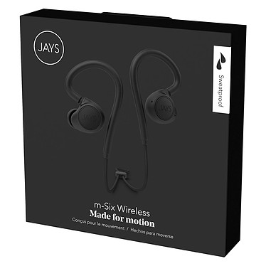 Avis JAYS m-Six Wireless Noir