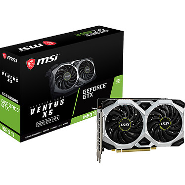 NVIDIA GeForce GTX 1660 Ti MSI