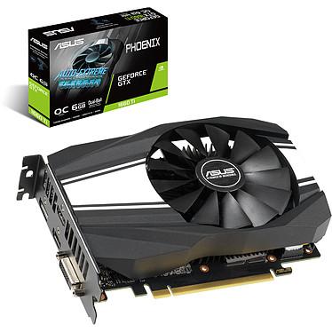 ASUS GeForce GTX 1660 Ti PH-GTX1660TI-O6G 6 Go GDDR6 - Dual HDMI/DVI/DisplayPort - PCI Express (NVIDIA GeForce GTX 1660 Ti)