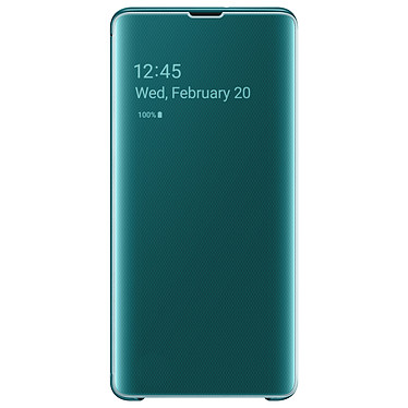 Samsung Clear View Cover Verde Galaxy S10+