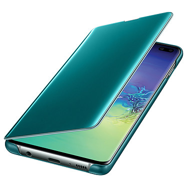 Opiniones sobre Samsung Clear View Cover Verde Galaxy S10+