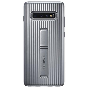 Samsung Coque Renforcée Argent Galaxy S10+