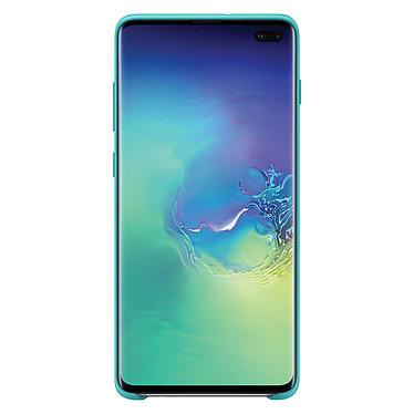Comprar Samsung Funda silicona verde Galaxy S10+