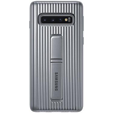 Samsung Coque Renforcée Argent Galaxy S10