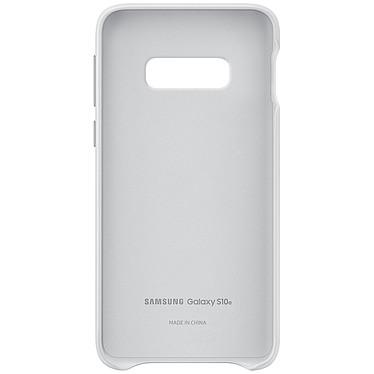 Avis Samsung Coque Cuir Blanc Samsung Galaxy S10e