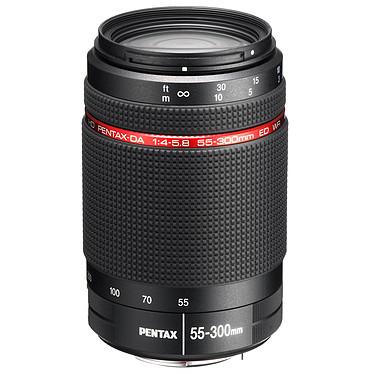Pentax HD-DA 55-300mm f/4-5.8 ED WR Télézoom tropicalisé avec revêtement haute qualité pour reflex Pentax (monture KAF)