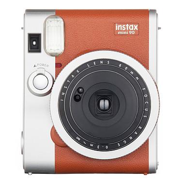 Avis Fujifilm instax mini 90 Neo Classic Marron + instax mini Bipack