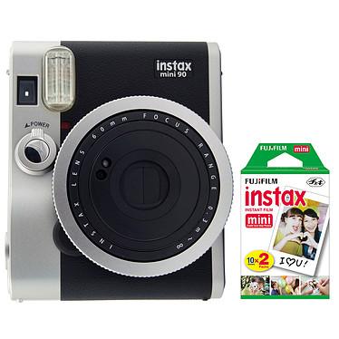 Fujifilm instax mini 90 Neo Classic Noir + instax mini Bipack