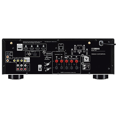 Avis Yamaha RX-V485 Noir + Jamo S 807 HCS Noyer