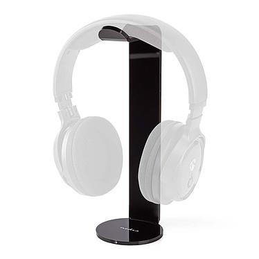 Nedis Socle pour casque (Noir) Support pour casque audio et casque gamer