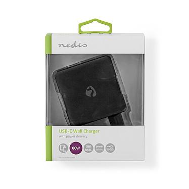 Nedis Chargeur mural USB-C 60W (Noir) pas cher