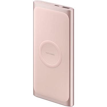 Samsung Wireless Battery Pack Oro/Rosa Batería externa 10000 mAh con zona de carga por inducción para Samsung Galaxy S10 / S10+ / S10e