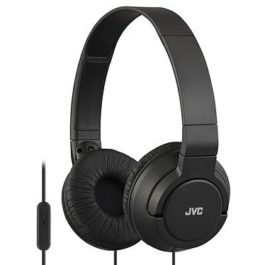 JVC HA-SR185 Noir Casque supra-auriculaire fermé avec microphone et télécommande