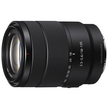 Sony SEL18135 Objectif transtandard APS-C de type E, focale 18-135mm, ouverture f/3.5-5.6, stabilisateur optique SteadyShot