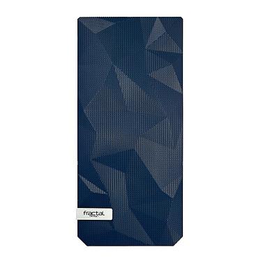 Fractal Design Color Mesh Panel pour Meshify C (Bleu foncé) Façade type Mesh pour boitier Meshify C