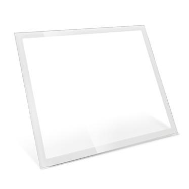 Fractal Design Define R6 TG Panneau latéral - Blanc Panneau latéral avec fenêtre en verre trempé pour boitier Define R6